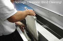 Ultra Sonic Blind Cleaning