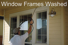 Window Frames Washed